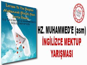 Hz. Muhammed'e (asm) İngilizce mektup yarışması