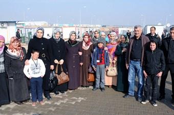 AKAD üyelerinden Suriyelilere yardım