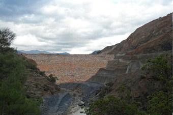 Gazipaşa'da Gökçeler Barajı'nın yüzde 86'sı tamamlandı