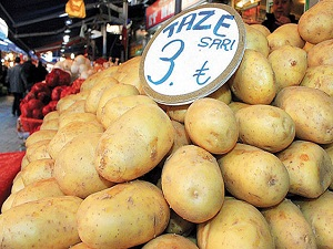 Patatesin kilosu 3 TL'yi geçti