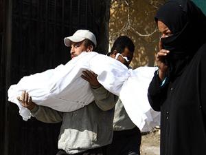Darbenin öldürdüğü 'isimsiz' kurbanlar defnedildi
