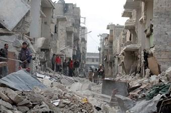 Suriye'de varil bombaları 89 yıl önce kullanılmış