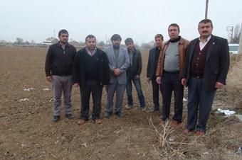 Konyalı çiftçiler kar yağışına hasret kaldı