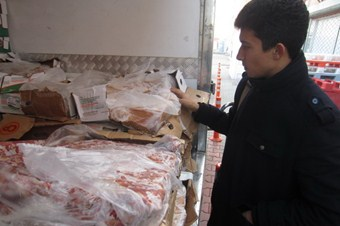 '174 Alo Gıda' hattı ihbarı ile 2 günde 10,2 ton ürün imha edildi