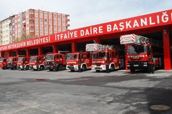 İtfaiye ekibi günde 6 yangına müdahale etti