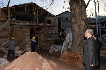 500 yıllık Davut Paşa Mescidi restore ediliyor