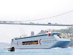 200 metrelik yüzen dev hastane geliyor