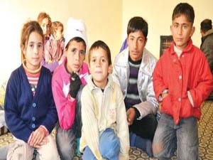 40 kişilik 3 Suriyeli aile donacaktı