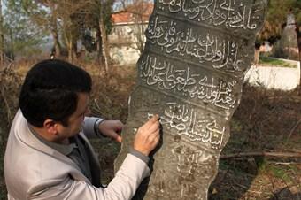 Alaplı'da Peygamber soyundan bir zata ait mezar taşı bulundu