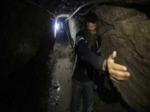 Gazze tünelinde akıma kapıldı