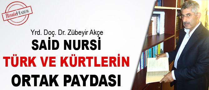Said Nursi, Türk ve Kürtlerin ortak paydası