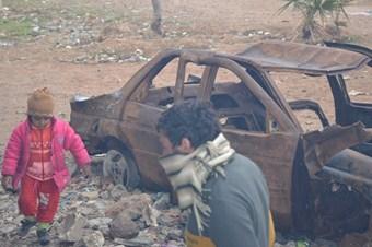 Sınırdaki Suriyelilerin, yürek burkan yaşam mücadelesi