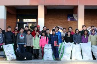 Öğrenciler, Suriyeliler için seferber oldu