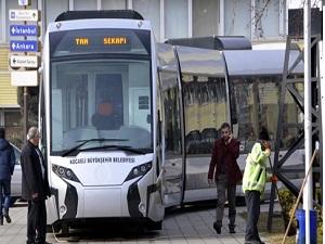 Kocaeli'ye tramvay geliyor