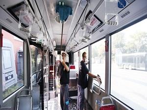 İETT otobüsleri her gün dezenfekte ediliyor