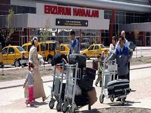 Erzurum'dan 2013 yılında 7 bin 298 uçuş