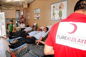 Kan bağışı geçen yıl yüzde 12 arttı