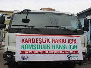 52 STK'dan Suriyeli mülteciler için yardım kampanyası