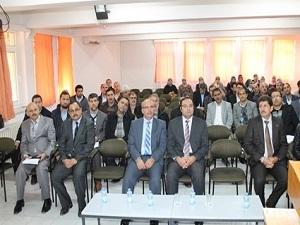 Din görevlilerine aile içi eğitim semineri verildi