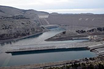 Türkiye'nin en büyük barajında su seviyesi arttı