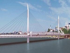 Haliç Metro Geçiş Köprüsü Şubat'ta hazır