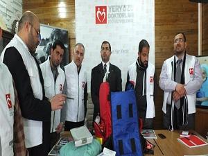 Yeryüzü Doktorları Suriye'ye ilaç olacak