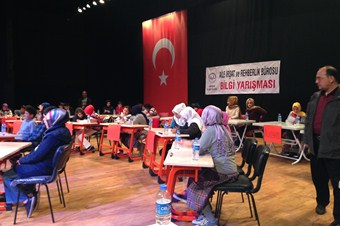 Müftülükten ortaokul öğrencilerine bilgi yarışması