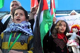 Gazze'liler Yermuk'daki kardeşlerini unutturmuyor