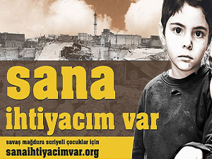 Suriye için 'Sana İhtiyacım Var' kampanyası