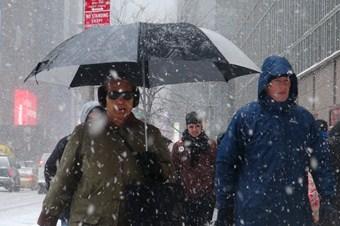 ABD'de yeni kar fırtınası