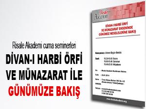 Divan-ı Harbi Örfi ve Münazarat ile günümüze bakış