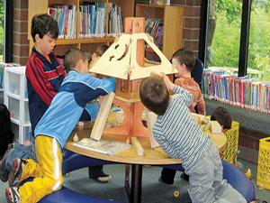 Bu kütüphanelerin müdavimi çocuklar