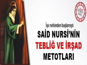 Said Nursi'nin tebliğ ve irşad metotları