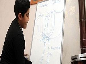 2 bin öğrenci evde eğitim alıyor