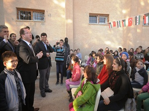 Mardin'de Suriyeli çocuklar için okul açıldı