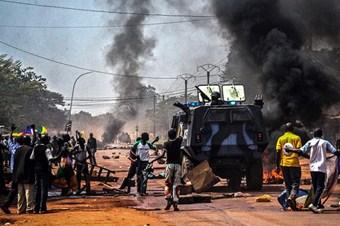 Bangui'deki Müslüman mahallesinde çatışma