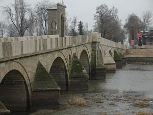Edirne'ye metrekareye 31 kilo rahmet yağdı