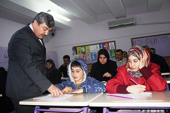 Suriyeliler Türkçe öğreniyor