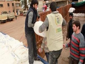 İHH-AYDER'den Suriye'ye 62. yardım tırı