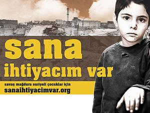 5 yardım tırı Suriye'ye gönderildi