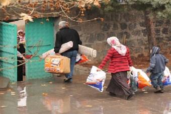 Kimse Yok Mu'dan 80 Siverekli aileye yardım eli