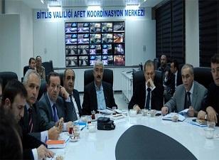 Doğu'nun ilk AFAD'ı Bitlis'e kuruldu