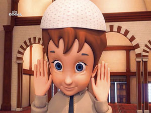 Çocuklar, namaz kılmayı animasyonla öğrenecek