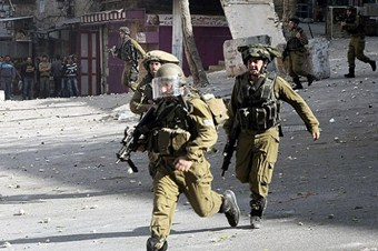 İsrail askerlerinden Filistinlilere müdahale