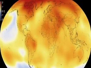 63 yıllık küresel ısınmayı 15 saniyeye sığdırdı