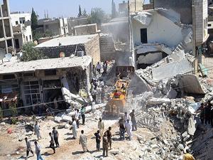 Suriye rejimi evleri kasten ve kanunsuzca yıktı