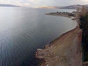 Sapanca Gölü havadan böyle görüntülendi