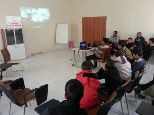 Öğrenciler tatilde Said Nursi filmi izledi