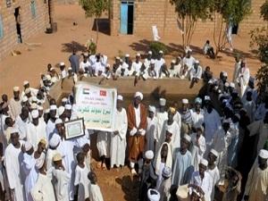 İhlas Vakfı Sudan'da İnsanlığın Hizmetinde