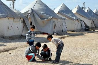 Suriyeli çocukların özgürlük hayali